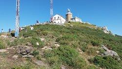 Torres eléctrica desde detrás del Faro