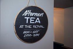 Afternoon tea at the Royal