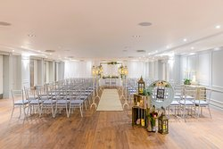 Civil Ceremony Set up - Shearwater Hotel & Spa