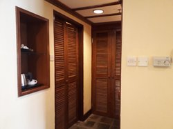 Bathroom and wardrobe doors