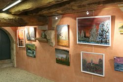 L'exposition de peintures : Christiane Thibaud Fournier