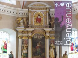 Eglise Ste Euphémie de Vissoie (maître-autel)