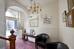 Our Victorian entrance hall provides access to all three apartments