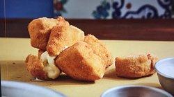 Provolette di agerola indorate e fritte