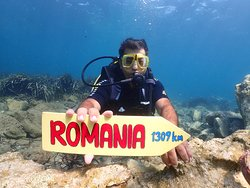 Our Guests coming from every where in world. Welcome Romania you are just 1309km away from our boat.