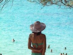 Halkidiki de en güzel plaj Orange Beach'dir. Mutlaka görmenizi tavaiye ediyorum.