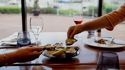 Tasmanian Oysters and waterfront views