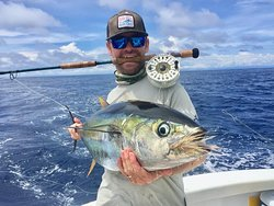 Fly Fishing aboard GOOD DAY, Costa Rica!