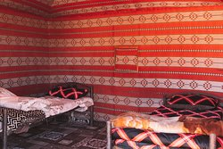 Twin room, private tent