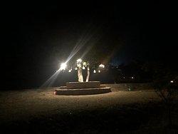 Lighting at night