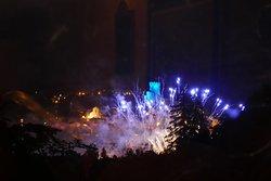 Fuochi d'artificio ad Arcidosso (dalla Locanda del Prete)