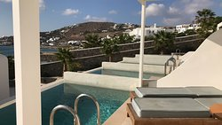 View from room pool
