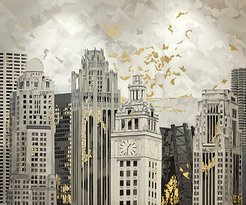 Terrace 16 'Archetype Gold' Mural