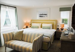 Courtyard bedroom at Sidmouth Harbour Hotel