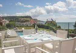 The Upperdeck Restaurant at Sidmouth Harbour Hotel