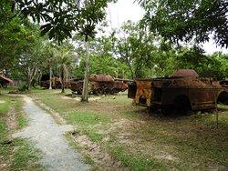 Rusting tanks