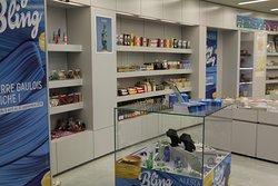 L'intérieur du site - Boutique souvenirs