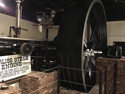 Massive steam engine.