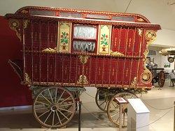 Gypsy carriage.