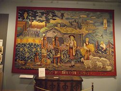 PA - PHILADELPHIA – SWEDISH MUSEUM #12 - SCENES FROM LIFE IN SWEDEN & ITS COLONIES