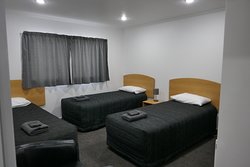 Single Beds in Two Bedroom Unit