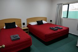 Bedroom in One Bedroom Unit.  There is a King Bed and a Single Bed