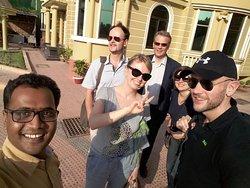 With Honarable Delegation Team of European Parliament on Weekend Tour at Royal Resort, Sonargaon