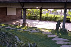 For groups and retreats we offer the Savah Shala, (Ricefield shala)