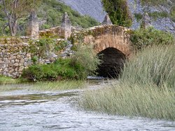 Brücke bei der La Posada Don Pedro (1)