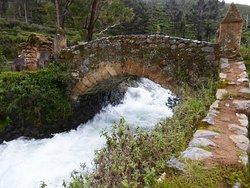 Brücke bei der La Posada Don Pedro (2)