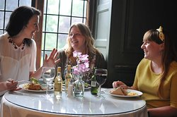 Let the friendly team serve you lunch in the dining room (c) National Trust / Cathy Thornton