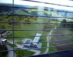 Auf dem Aussicht`s Turm, mit schöner Weitsicht...