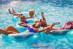 Cool off in our Lazy River- a family favorite.