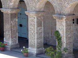 Churriguereske Säulenverzierungen