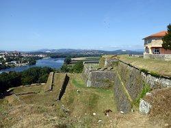 Fortaleza de Valenca, vy mot norr