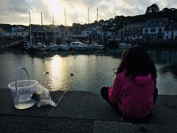 Padstow - a short drive away.  Lovely for some crabbing.