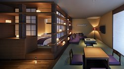 全ての部屋が約80㎡以上のスイートタイプ。全7室異なった内装をしております。