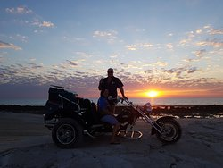 Sunsets in Broome on a Trike at Coconut Wells a Must