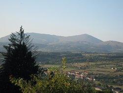 View of Rtanj Mountain.