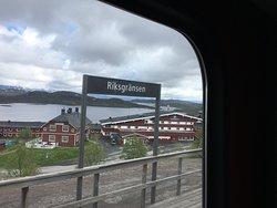 Riksgransen Station