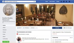 We are on FaceBook, search for BuddhaBuddhaRestaurant to see more information about our menus, events... , LIKE and SHARE with your friends