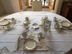 Apparecchiatura prima colazione a Casa Celli 💖