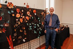 Holiday Faire & Artisan Don Kennedy of Cosmic Copper