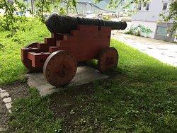 Skansen artillery