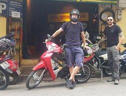 Riding to Ho Chi Minh city