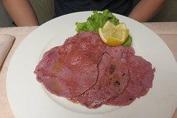 Carne salada scottata ai ferri