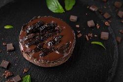 Tartelette au chocolat et aux prunaux