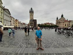 la piazza centrale di praga