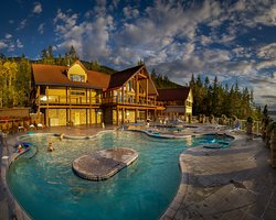 hot springs and lodge