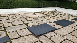 John F. Kennedy Memorial area, eternal flame